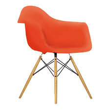 DAW Plastic Armchair Poppy Red & Maple - The Conran Shop Charles And Ray Eames Chair Vitra Plastic Armchair Daw With Full Upholstery Side Dsw By 1950 Style Dowel And Chairs 115 For Sale At 1stdibs Lounge Ottoman Herman Miller Eiffel Inspired Ding Retro Design Dsr Viaduct