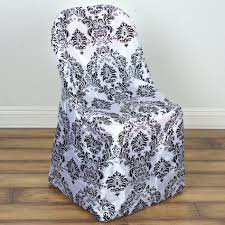 Black White FLOCKING Folding CHAIR COVER Wedding Party TradeShow ... Black Tablecloths White Chair Covers Holidays And Events White Black Banquet Chair Covers Hashtag Bg Sashes Noretas Decor Inc Cover Stretch Elastic Ding Room Wedding Spandex Folding Party Decorations Beautifull Silver Sash Table Weddings With Classic Set The Mood Joannes Event Rentals Presyo Ng Washable Pink Wedding Sashes Napkins Fvities Mns Premier Event Rental Decor Floral Provider Reception Room Red Interior