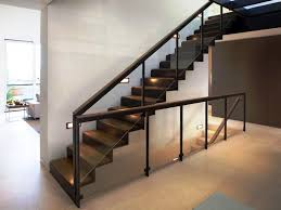 Awesome Contemporary Stair Railing : Parts Of A Contemporary Stair ... Best 25 Modern Stair Railing Ideas On Pinterest Stair Contemporary Stairs Tigerwood Treads Plain Wrought Iron Work Shop Denver Stairs Railing Railings Interior Banister 18 Best Jurnyi Lpcs Images Banisters Decorations Indoor Kits Systems For Your Marvellous Staircase Wall Design Decor Tips Rails On 22 Innovative Ideas Home And Gardening