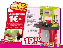 cuisine enfant ecoiffier maxi toys promotion cuisine loft ecoiffier cuisines jouets