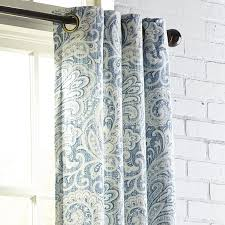 Pier 1 Imports Curtains by Seasons Paisley Indigo Grommet Curtain Pier 1 Imports
