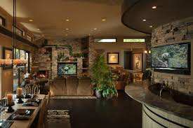 Open Floor Plans Homes by Open Floor Plan Contemporary Dining Room By
