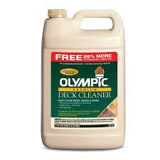 shop olympic 319 9 fl oz biodegradable deck cleaner at lowes com
