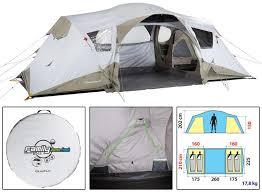 tente 4 places 2 chambres seconds family 4 2 xl 3 tente 4