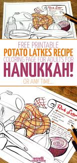 Its A Free Printable Hanukkah Coloring Page For Adults Download This Colouring Grown
