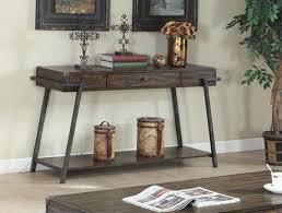 Sofa Table Walmart Canada by Magnum Sofa Table With Storage Dark Walnut Walmart Canada