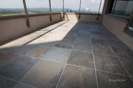 outdoor balcony tile traditional deck montreal by