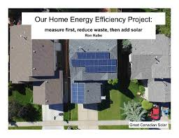 100 Kube Homes Energy Efficiency First Solar Second Ron Learned Tha