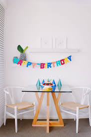 Brown And White Pub Set And Happy Birthday Hanging Decor ...