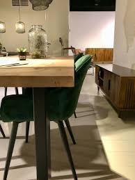stuhl samt 4 farben schwarz grün gold pink esszimmer neu