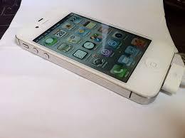 Used Unlocked White iPhone 4s 64Gb Sold Phone Internet Market