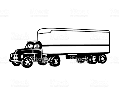 Semi Truck Stock Vector Art & More Images Of Black And White ... Big Blue 18 Wheeler Semi Truck Driving Down The Road From Right To Retro Clip Art Illustration Stock Vector Free At Getdrawingscom For Personal Use Silhouette Artwork Royalty 18333778 28 Collection Of Trailer Clipart High Quality Free Cliparts Clipart Long Truck Pencil And In Color Black And White American Haulage With Blue Cab Image Green Semi 26 1300 X 967 Dumielauxepicesnet Flatbed Eps Pie Cliparts