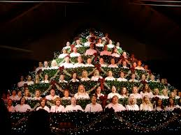 Bellevue Singing Christmas Tree by Sing Christmas Tree Christmas Lights Decoration