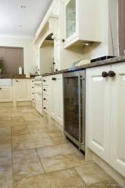 White Kitchen Tile Floor Ideas Pictures Of Kitchens Black With Cabinets Grey Color Porcelain Floors Tiles Designs F