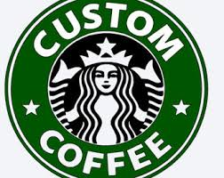 Starbucks Logo Etsy Evolution Outline