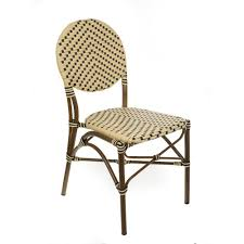 Aspen Brands Brown Aluminum Stackable Cream And Black Plastic Wicker ... Decor Market Siesta Wicker Side Chairs Black Finish Hk Living Rattan Ding Chair Black Petite Lily Interiors Safavieh Honey Chair Set Of 2 Fox6000a Europa Malaga Steel Ding Pack Of Monte Carlo For 4 Hampton Bay Mix And Match Stackable Outdoor In Home Decators Collection Genie Grey Kubu 2x Cooma Fnitureokay Artiss Pe Bah3927bkx2 Bloomingville Lena Gray Caline Breeze Finnish Design Shop Portside 5pc Chairs 48 Table