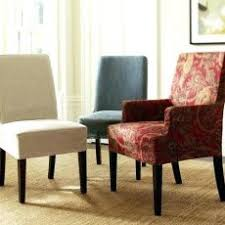 Excellent Inspiration Ideas Dining Room Chair Slipcovers Pottery Barn Covers For Chairs Cover Plastic
