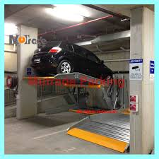2 Post Car Lift Low Ceiling by Two Post Tilting Parking Lift Qingdao Mutrade Co Ltd Page 1