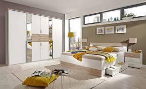 lifestyle4living schlafzimmer komplett set in eiche sonoma