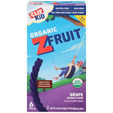 Clif KidR Organic Grape ZFruit Rope