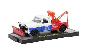 M2 Machines Auto-Trucks - 1967 Ford F-100 Tow Truck R46 - Walmart.com