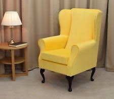 Strandmon Wing Chair Green by Yellow Armchairs Ebay