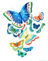 Butterfly Print Spring Flutter By BellaAndBunny On Etsy 2200 I Wonder If Could Do