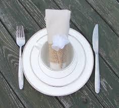 20 Burlap Napkin HolderWedding RingsRustic Wedding DecorRustic Holder