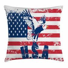 American Flag Pillow Covers