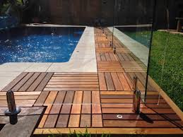 wood deck tiles diy well made wood deck tiles cement patio