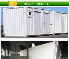 günstigen preis 20ft einfache installation container toilette vorgefertigte badezimmer buy fertigbad product on alibaba