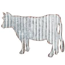 Hobby Lobby Wall Decor Metal by Cow Corrugated Metal Wall Decor Hobby Lobby 1299791