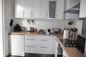cuisines blanches et bois cuisine blanche bois et inox photo 1 6 3509190
