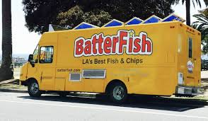 Batterfish Food Truck In Santa Monica. Best Fish And Chips ... Commission Moves To Legalize Regulate Food Trucks Santa Monica Global Street Food Event With Evan Kleiman In Trucks Threepointsparks Blog Private Ding Arepas Truck In La Fast Stock Photos Images Alamy Best Los Angeles Location Of Burger Lounge The Original Grassfed Presenting The Extra Crispy And Splenda Naturals Truck Tour Despite High Fees Competion From Vendors Dannys Tacos A Photo On Flickriver