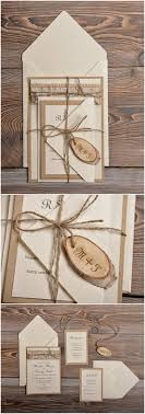 Top 10 Rustic Wedding Invitations To WOW Your Guests