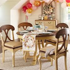 marchella antique ivory 48 round dining table pier 1 imports