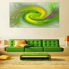 grüne abstrakte leinwand wand kunst große teal malerei moderne türkis drucke kunstwerk für wohnzimmer schlafzimmer dekoration