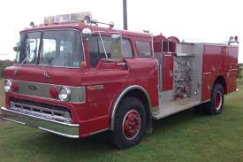 9/11 Tribute: 1980 Ford 8000 Pierce Fire Truck