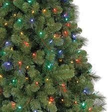 Dunhill Christmas Trees by Home Heritage 9 U0027 Artificial Cascade Pine Christmas Tree W Color