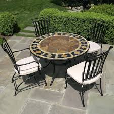 small rectangular outdoor dining table tile patio table and chairs