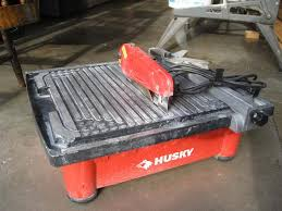 husky tile saw model thd750l huskey tile saw saanich