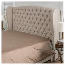 Roma Tufted Wingback Headboard Instructions by Alberta Tufted Wingback Headboard King California King Light