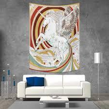 100 Pop Art Home Decor Amazoncom Smallbeefly Unicorn Ations Living Room