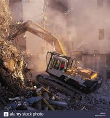 Demolition Truck Stock Photos & Demolition Truck Stock Images - Alamy