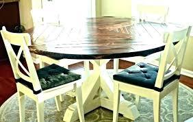 Farmhouse Dining Room Set Narrow Table Rustic Farm Round