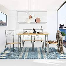 yata home küchenset 1 tisch und 4 stühle esszimmer