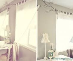 How To Make Beautiful Curtain Rods Out Of Tree Branches