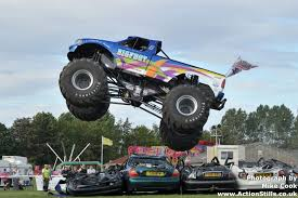 100 Truck Jumping Bigfoot 17 Monster Over Cars Drive It Pinterest