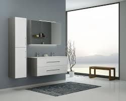 badezimmermöbel set s bengaluru 3 teilig inkl waschtisch waschbecken farbe weiß matt esche grau
