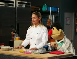 Disney Cat Cora and a Muppet Named Angelo Rockin Mama™